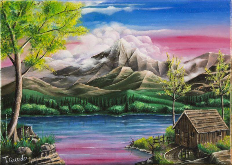 Stampaecoloraweb Paesaggi Da Disegnare Colorati