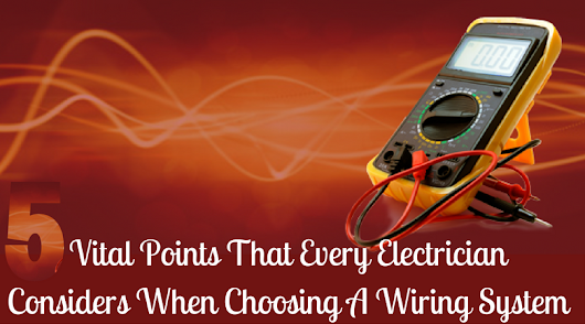 Need a new wiring system for your domestic property in Reigate? then find 5 v...