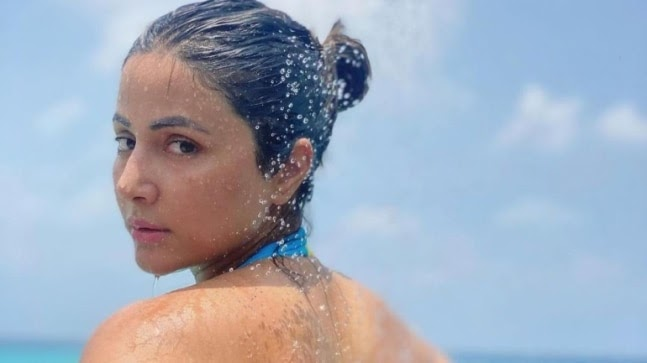 Hina Khan goes snorkeling in throwback Maldives video. Watch https://ift.tt/39x55u6