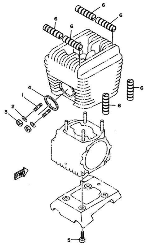 5. Yamaha Motor Mount Bolt 8x25mm :: Yamaha Exhaust Parts