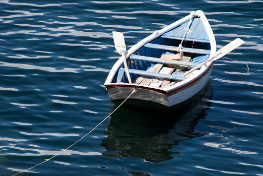 Rowboat by Cindy A. Stephens (Color Photograph) | Artful Home