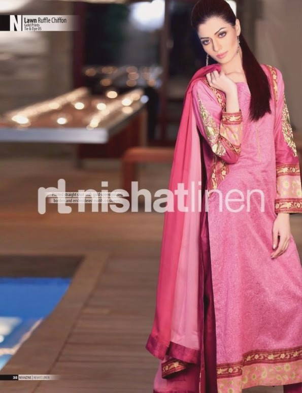 Nishat-Linen-Eid-Dress-Collection-2013-Pret-Ready-to-Wear -Lawn-Ruffle-Chiffon-for-Girls-Womens-14