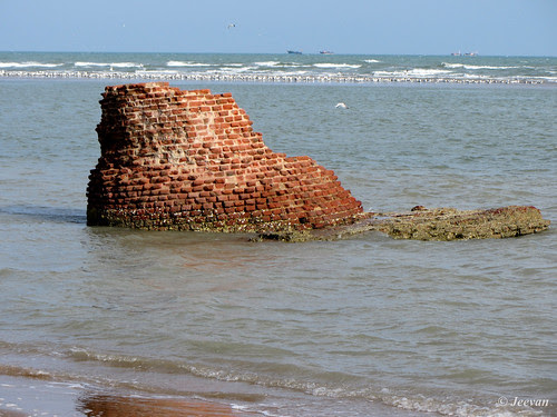 Chola Lighthouse ruin