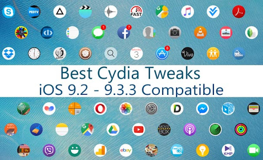 Best Cydia apps & tweaks you should try with iOS 9.3.3 jailbreak