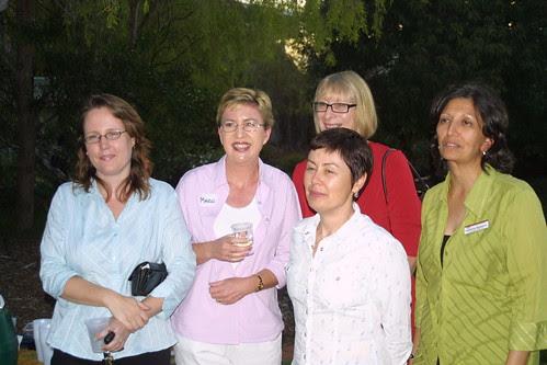 Leigh, Marg, Jo, Jessie, Jayshree