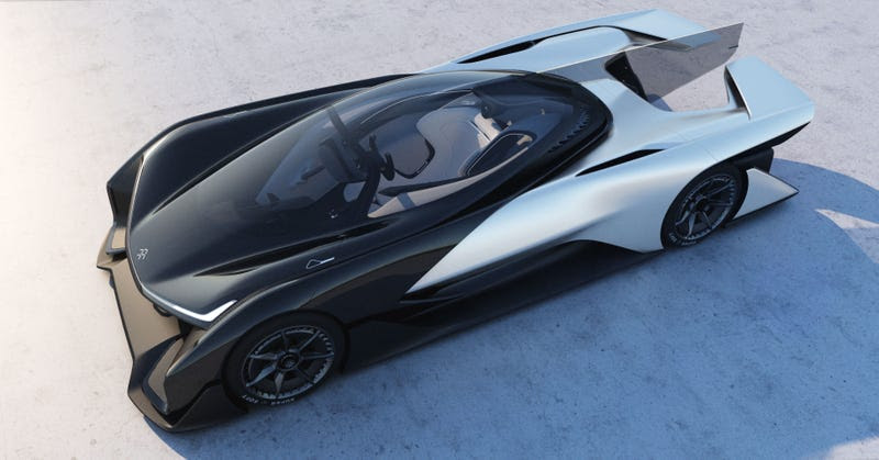 Faraday Future Says It Has A Real Car Too But You Haven't Seen It Yet