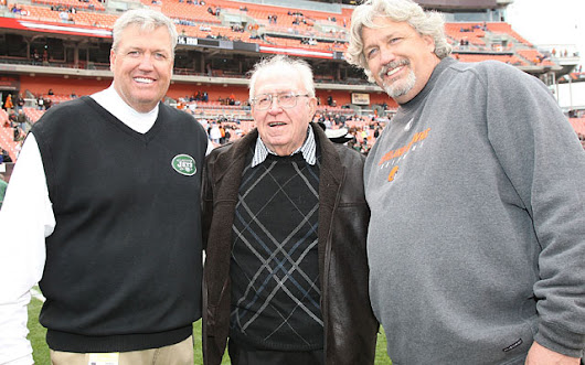 Rex Ryan has dad Buddy to thank for pro football coaching career