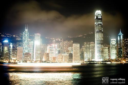 人人都是觀光客系列 - 維多利亞港 @Hong Kong