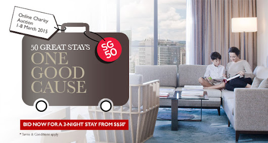 Frasers Hospitality's SG50 Online Charity Auction