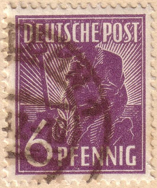 File:Deutsche Post 6 pfennig - 1947.jpg - Wikimedia Commons