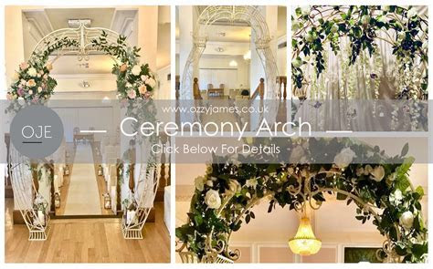 Wedding Arch Hire Northwest   Ozzy James Parties & Events