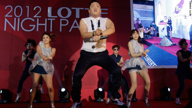 "The video for Psy's ""Gangnam Style"" has racked up more than a billion hits on YouTube, becoming the most-watched entry of all time."