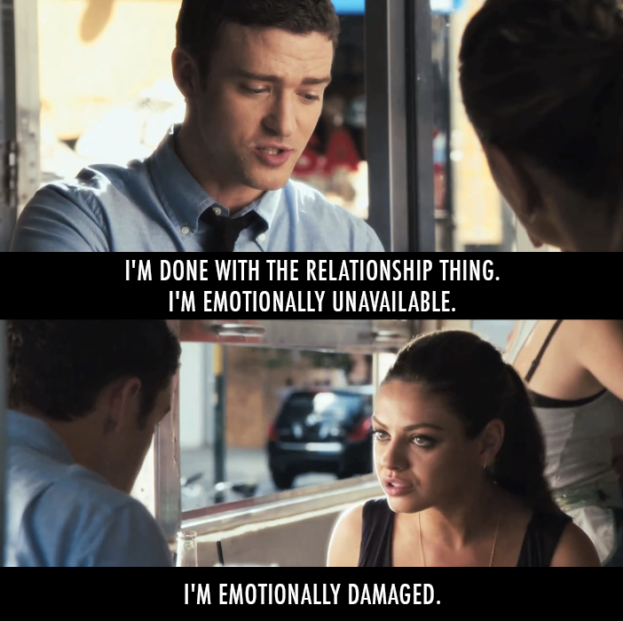 Friends With Benefits 2011 Quote About Relationship Ons Fwb Fuck