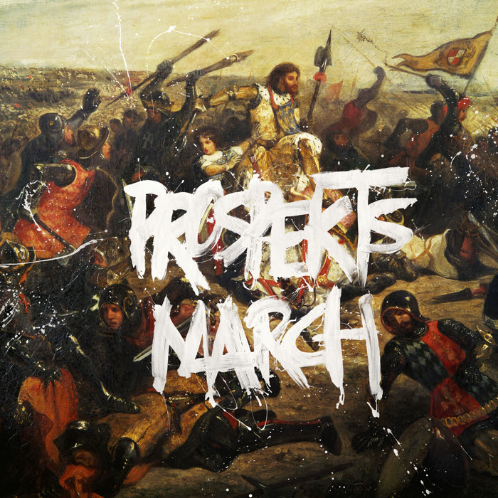 Coldplay - Prospekt's march EP album cover art