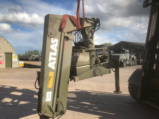 Atlas AK3006 crane for sale | MOD direct sales| LJackson and co ltd