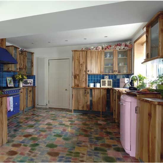 Kitchen with unusual flooring | Kitchen design ...