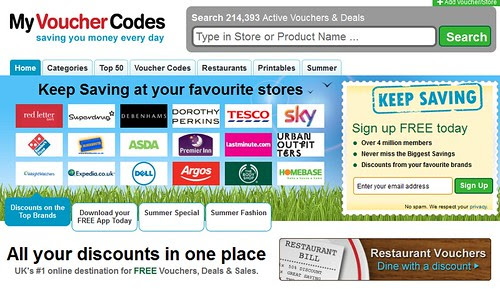 my voucher codes