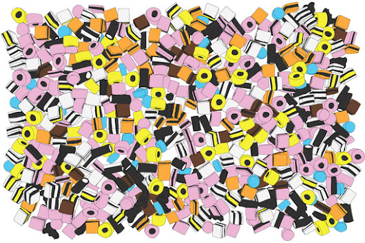 Lots of Liquorice Allsorts