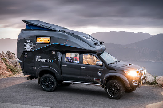 The Toyota Hilux Camper 4x4 Is A Mobile Basecamp Built To Conquer The Backcountry