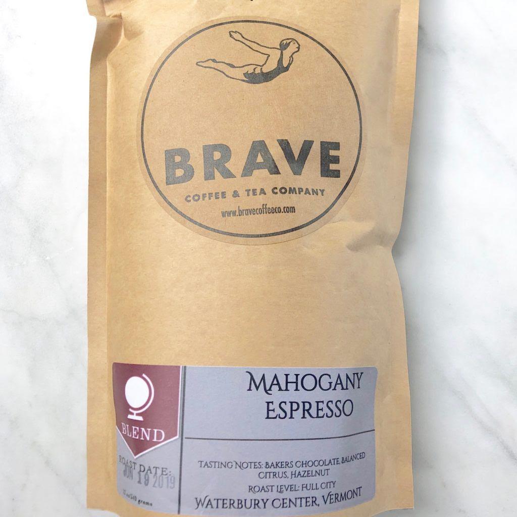 Brave Coffee Tea Mahogany Espresso Blend