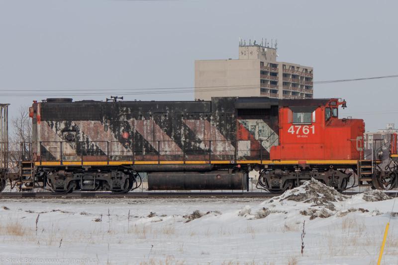 CN 4761 in Winnipeg