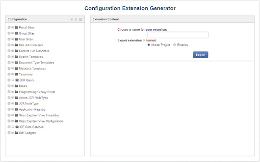 Kick start your project with the Extension Generator 1.1