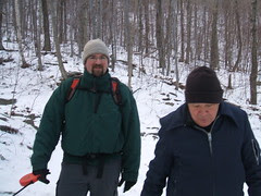 Mink Hollow Hike - 12/25/10