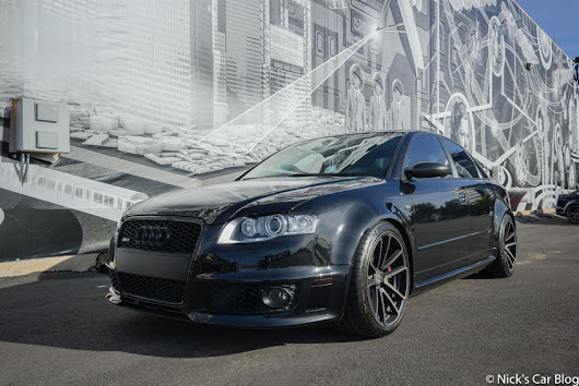 Ed's Phantom Black 2007 Audi RS4
