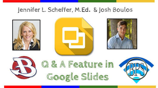 Q & A Feature in Google Slides
