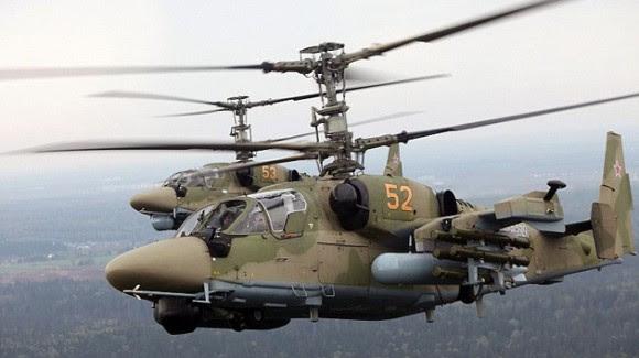 Rusia planea desarrollar helicópteros de quinta generación antes del 2018