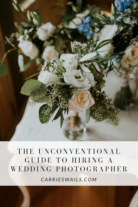 The Unconventional Guide to Hiring a Wedding Photographer