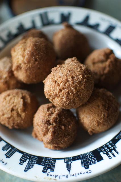 cinnamon doughnut holes, gluten-free