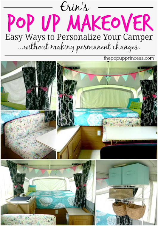 Erin's Pop Up Camper Makeover