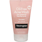 Neutrogena Oil-Free Pink Grapefruit Acne Wash Face Scrub, 4.2 fl. oz