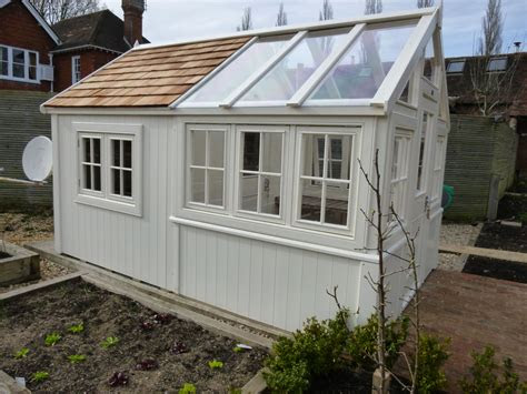bespoke greenhouse combined posh shed greenhouse shed