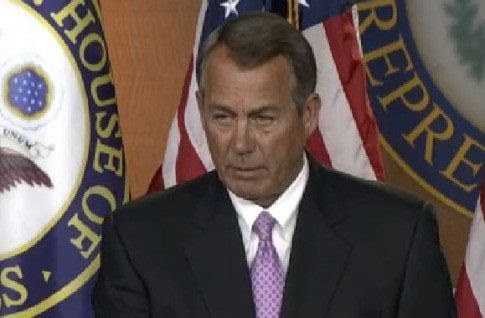 Boehner Asks Democrats For Help Passing Bill To Avoid Government Shutdown Then Bashes Obama
