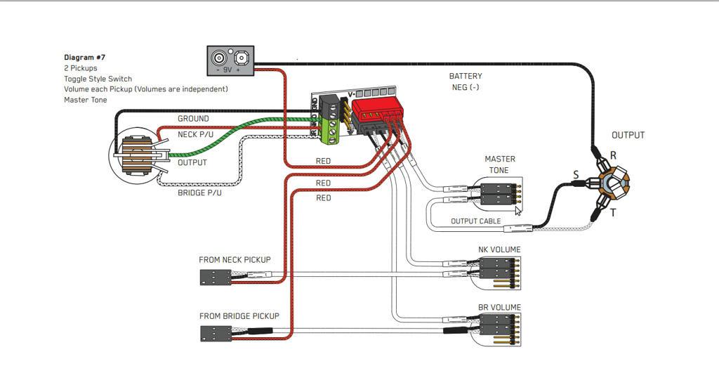 One Active Humbucker And Volume Wiring Diagram from lh3.googleusercontent.com