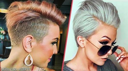 cortes de cabello corto para mujer 2017 2018 cortes de cabello corto modernos moda para mujer tv - Cortes De Pelo Modernos De Mujer