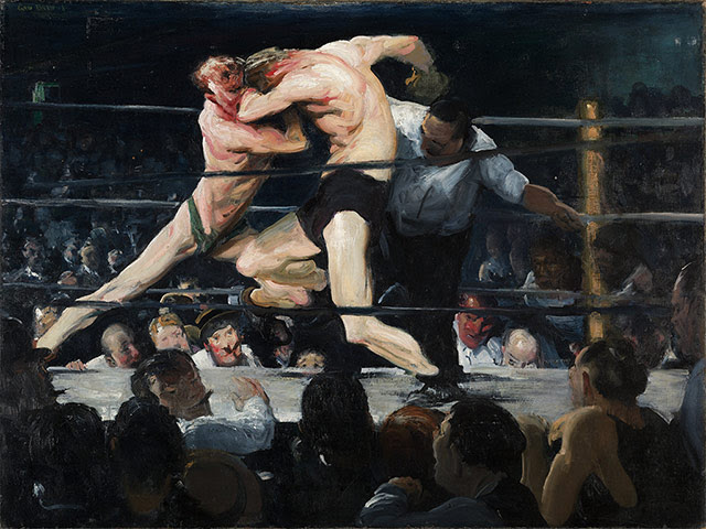 George Bellows: George Bellows, Stag at Sharkey's, 1909