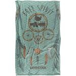 Trevco Sportswear WOOD135-BKT3-36x58 36 x 58 in. Woodstock & 50 Years Ticket Silky Touch Blanket White