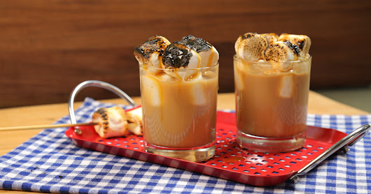 How to Make Crazy Indulgent Toasted Marshmallow Coffee Cocktails