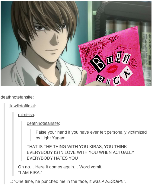 Death Note Meets Mean Girls Deathnote