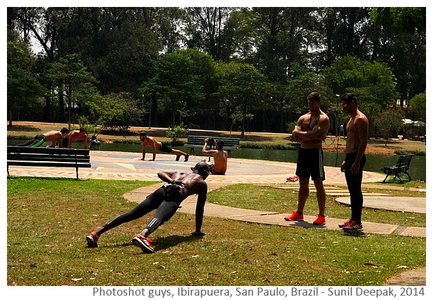 Sportsmen Photoshot, San Paulo, Brazil - Images by Sunil Deepak, 2014