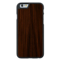 The Beauty Of Real Wood iPhone 6 Bumper Case Carved Walnut iPhone 6 Case