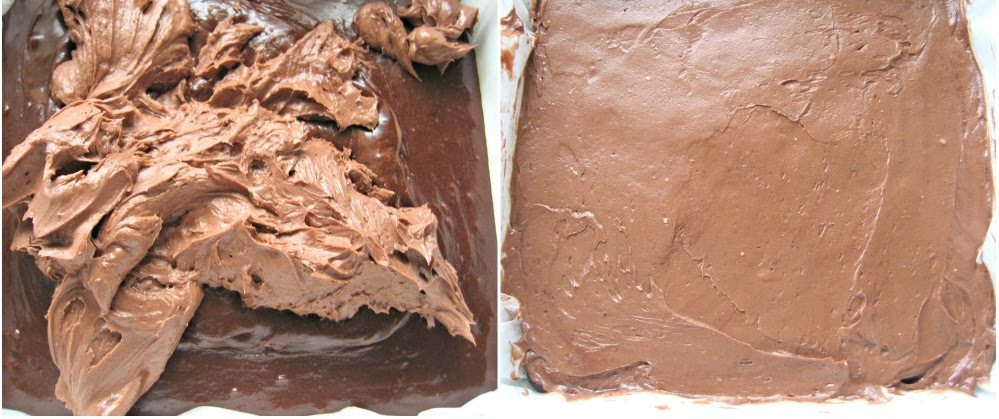 BROWNIE AU CHOCOLAT ET FROMAGE (6)