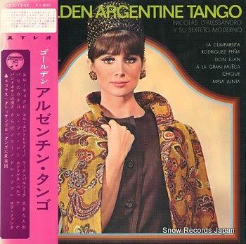 D'ALESSANDRO, NICOLAS golden argentine tango