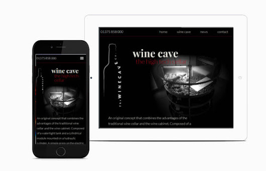 JKE Web Design | The Wine Cave Company