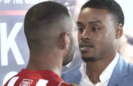 Kell Brook defends against Errol Spence this Sat. on Showtime - Boxing News