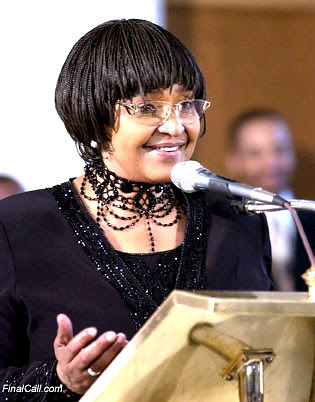 Ms. Winnie Madikizela-Mandela, a leading national executive member of the African National Congress of South Africa, is the subject of a biopic starring African American actor Jennifer Hudson. by Pan-African News Wire File Photos