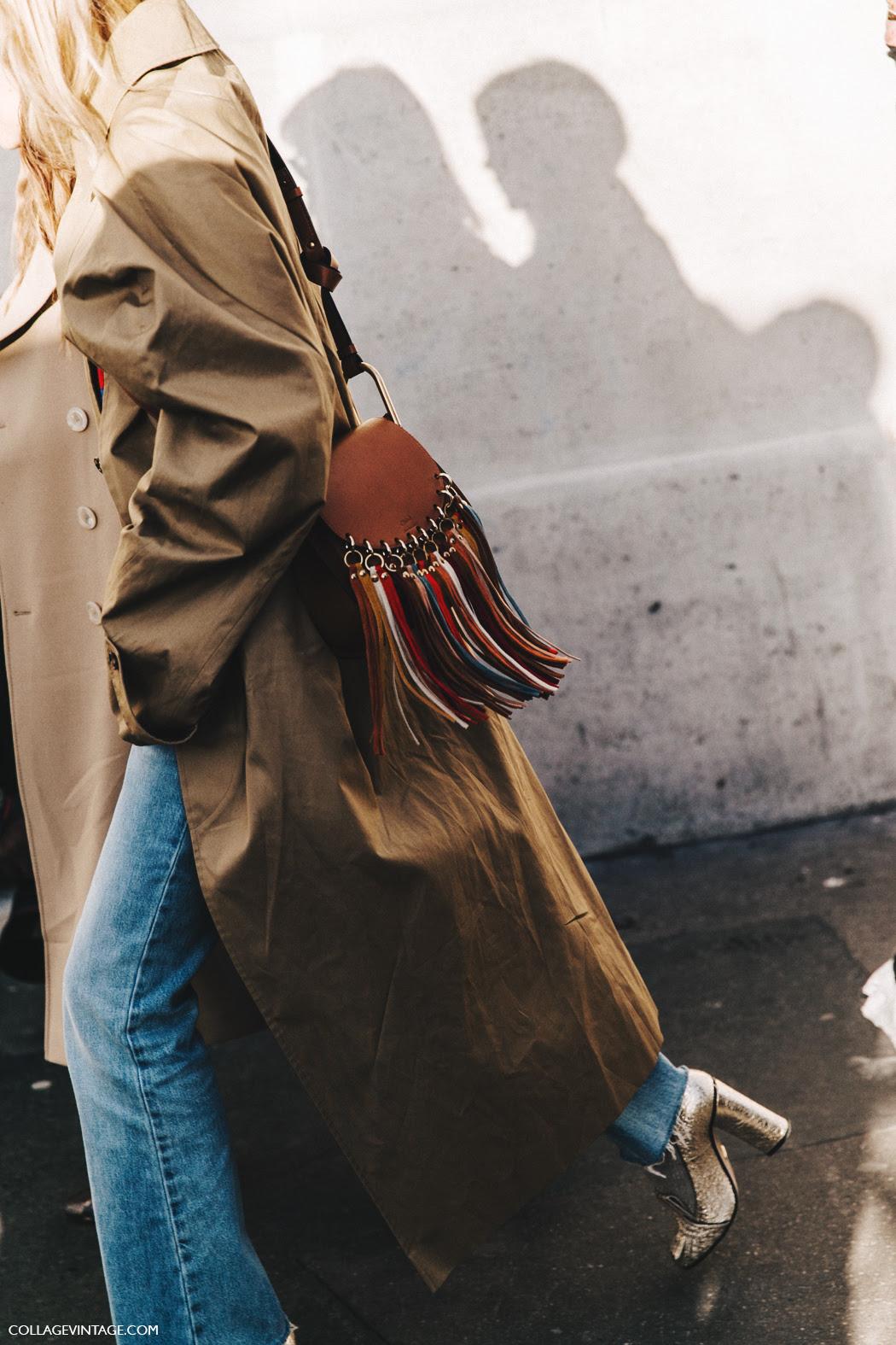 PFW-Paris_Fashion_Week_Fall_2016-Street_Style-Collage_Vintage-Pernille_Teisbaek-Vetements-Trench-Jeans-Chloe_Bag-2